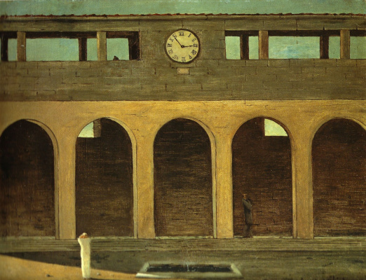 Giorgio de Chirico. The mystery of the hour