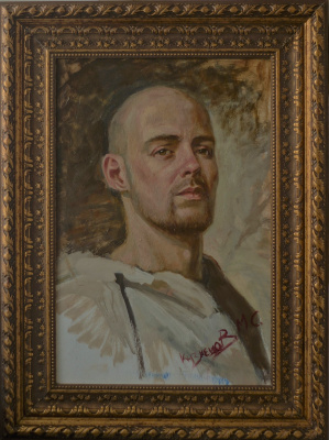 Максим Сергеевич Кузнецов. Self-portrait