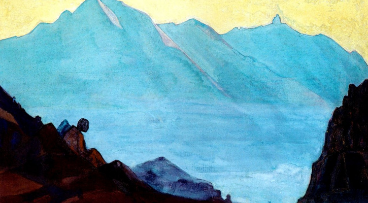 Nicholas Roerich. The hermit