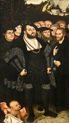 Lucas the Younger Cranach. Martin Luther and the Wittenberg Reformers. Museum of Art, Toledo.