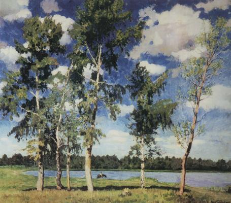 Igor Grabar. On the lake