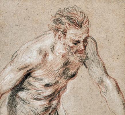 Antoine Watteau. A satyr