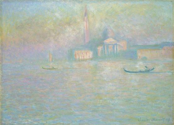 Claude Monet. San Giorgio Maggiore
