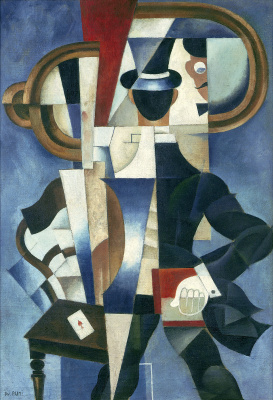 Иван Альбертович (Жан) Пуни. «Автопортрет» 1921