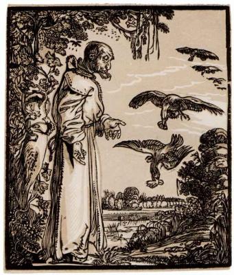 Хендрик Гольциус. Пророк Илья