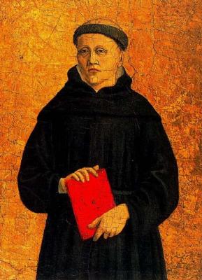 Piero della Francesca. Polyptych Of Saint Augustine. St. Augustine