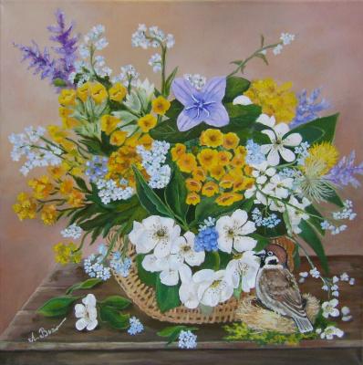 Любовь Викторовна Волобаева. Simple, simple bouquet