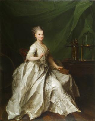 Dmitry Grigorievich Levitsky. Portrait of the pupils of the Imperial educational society for noble maidens Ekaterina Ivanovna Molchanova