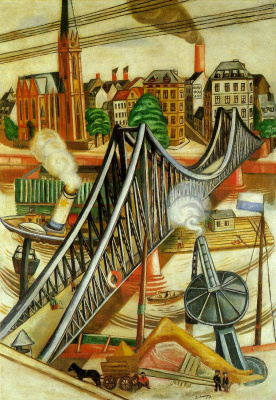 Max Beckmann. The iron bridge