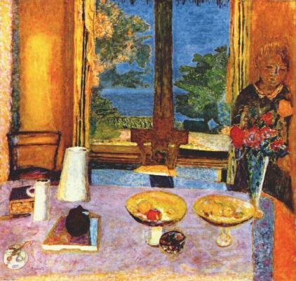 Пьер Боннар. Вид в сад из столовой