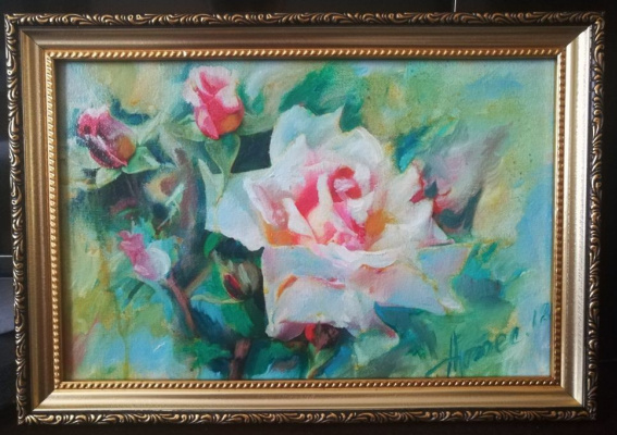 Olga Yuryevna Serebrova-Artes. Roses