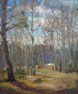 Larisa Kostyleva-Tamson. Balatovsky park