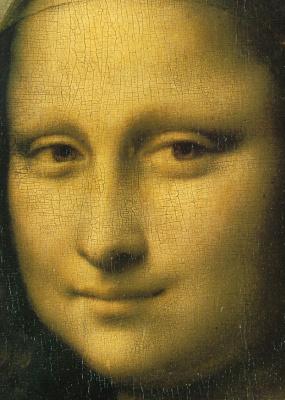 Leonardo da Vinci. Mona Lisa (detail)