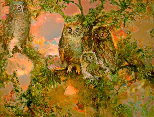 Evgeny Anatoleviz Babushkin. Owls