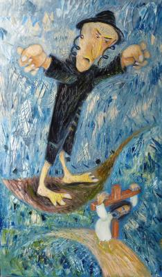 Svyatoslav Ryabkin. Christ Carrying the Cross Carrying the Cross