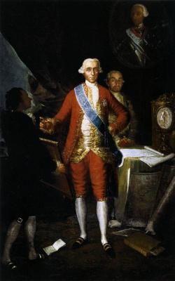 Франсиско Гойя. Хосе Монино Редондо, граф Флоридабланка