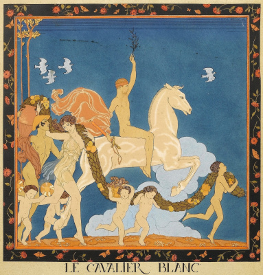 Georges Barbier. Greek tragedy
