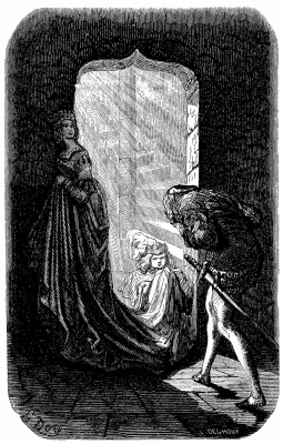 "Paul Gustave Dore. Illustration for Balzac's ""Naughty Tales"""