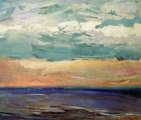 Abram Arkhipov. In the White sea
