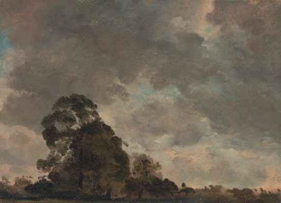 John Constable. The evening clouds. Sketch