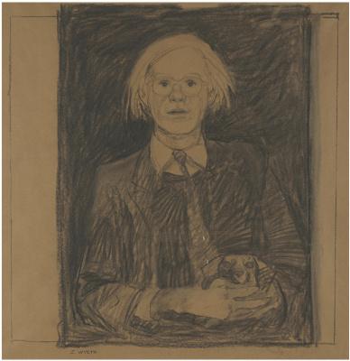 Jamie Wyeth. Andy Warhol