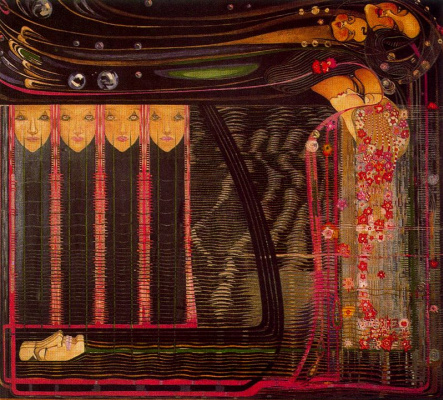 Charles Rennie Mac. Floral motif 2