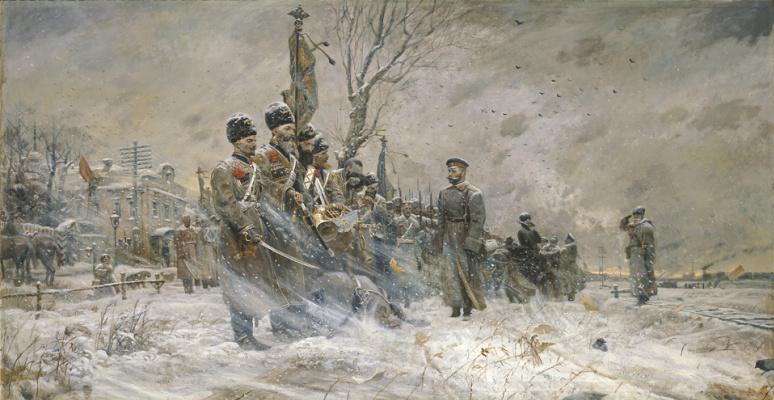 Pavel Viktorovich Ryzhenko. Farewell to the convoy