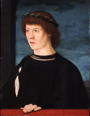 Giovanni Bellini. Portrait of Jorg Fugger