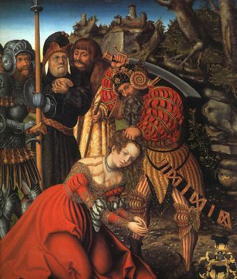 Лукас Кранах Старший. Мученичество Св. Варвары