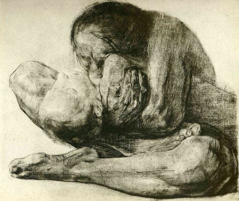 Женщина с мёртвым ребенком