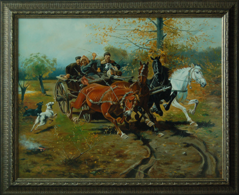 """Terna Serghei. """"Accelerating the chariot"""" by Joseph Brandt, copy"""