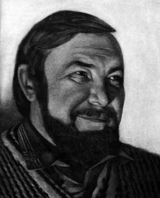 Nikolai Nikolayevich Sednin. Portrait Of Elkina