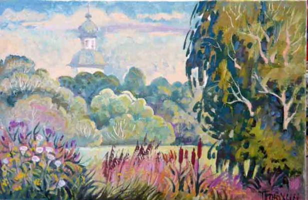 Vasily Ivanovich Ptyukhin. Park Whistle
