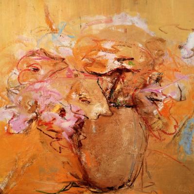 Герда Маршалл. Ваза с цветами