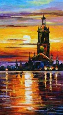 Leonid Afremov. Old tower