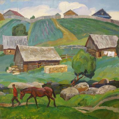 Alexander Anatolyevich Volnenko. Summer. Ivanov ravine