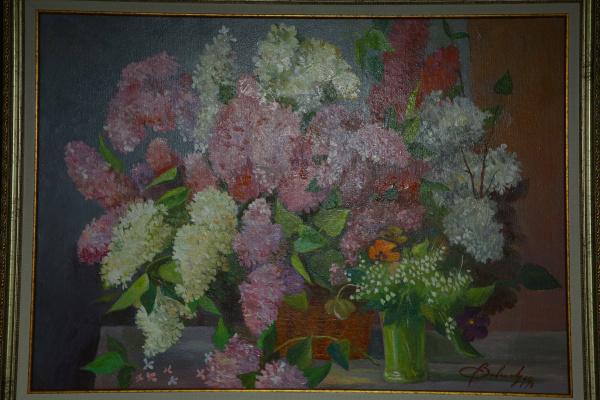 Vyacheslav Savenkov. A bouquet of lilac