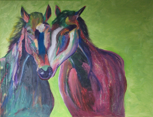 Anna Alexandrovna Shindakova. Horses