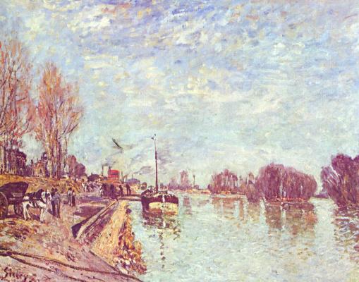 Alfred Sisley. Seine near Suren's