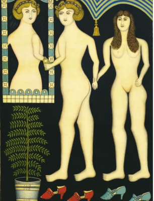 Morris Hirschfield. Inseparable friends