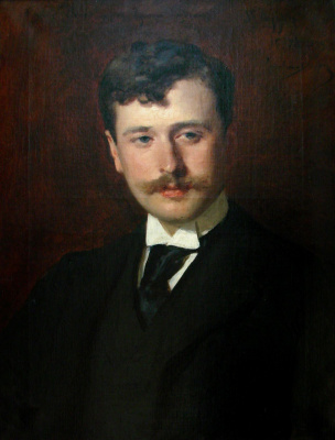 Carolus-Durand. Portrait of Georges Feydeau, the playwright