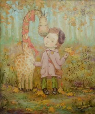Екатерина Дудник. Мой ноябрёвый жираф (Мій листопадовий жираф)