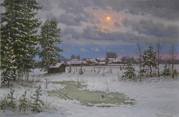 Alexander Vasilyevich Zoryukov. Илиilina motive