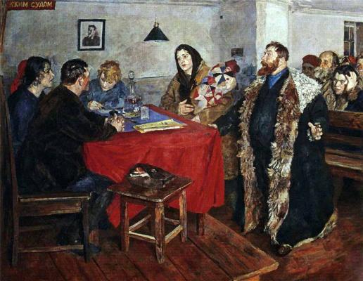 Boris Vladimirovich Johanson. The Soviet court