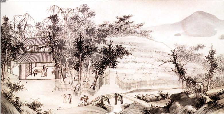 Шен Чжоу. Пейзаж 037