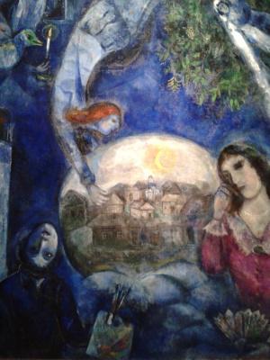 Марк Захарович Шагал. Вокруг нее