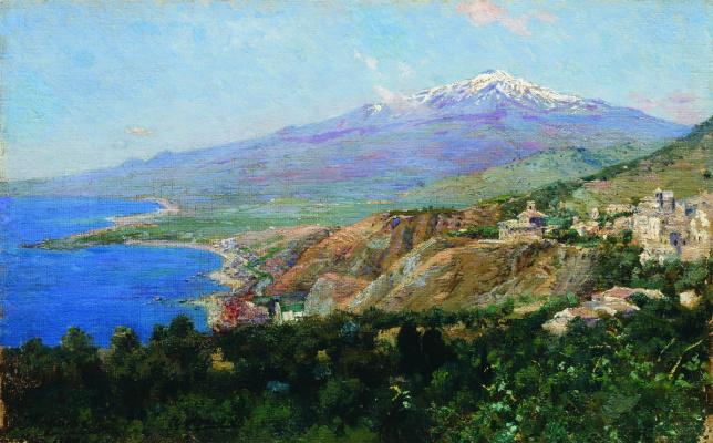 Nikolay Aleksandrovich Yaroshenko. Taormina. 1897