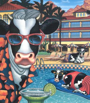 Энди Лакков. Корова в очках