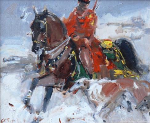 Alexander Vladimirovich Gorbikov. Russian horseman.