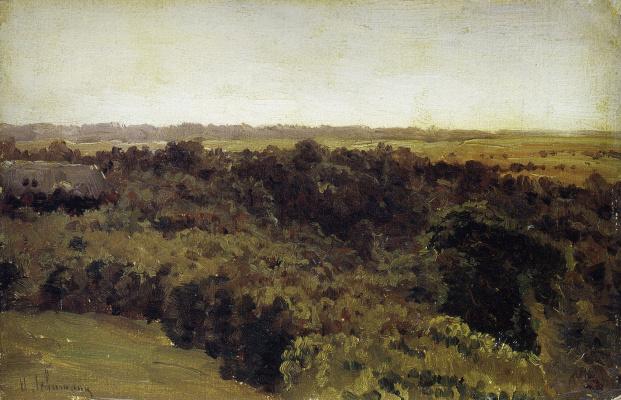 Isaac Levitan. Woods